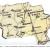 Карта - схема населенных пунктов Благовещенского сельского совета