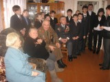 Встреча на дому у ветерана