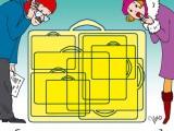 Сколько чемоданов?