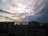 Вечернее небо.