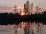 закат на разливах