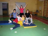 Учителя 667 школы занимаются физической подготовкой