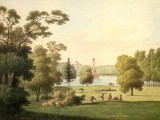 Вид части Царскосельского парка. А.Е.Мартынов. 1821-22.