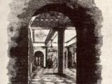Вид большого лицейского зала. Ф.Давиньон (?) с оригинала Лангера