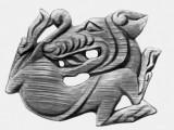 Фигурка зверя бронзового века