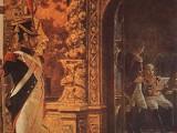 Маршал Даву в Чудовом монастыре. Картина В.В. Верещагина