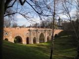 Пейзаж с мостом.