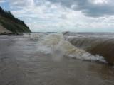 Волны Обского водохранилища