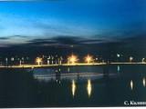 Ночной Киров (мост через Вятку)