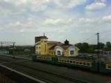 Каргат. Вид на вокзал