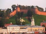 Вид на Нижегородский Кремль с Волги