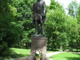 Памятник  Акиму  Мальцову.