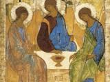 Троица. Около 1411, Андрей Рублёв.