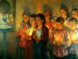 В церкви. (1934г.)