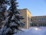 Моя родная Иванковская школа зимой