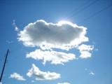 Что, зубастый крокодил солнце в небе проглотил?