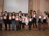 Награды победителям - ученикам 667 школы на конференции в Городском центре медицинской профилактики