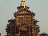 Успенско-Никольский храм в станице Арчединская Волгоградской области