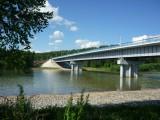 Мост на реке Лебедь