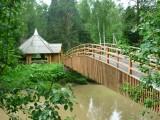 Мост через речку Тандошку