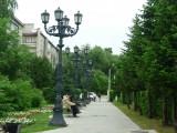 Фонари города Горно - Алтайска