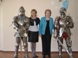 Е.Е. Семенова и Е.Б. Гордиенко и представители военно-исторического сообщества `Золотой грифон`