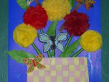 `Цветы в корзинке`