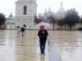 Осенний поцелуй губами Киева.