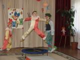 К нам приехал цирк. Детский спортивный праздник.