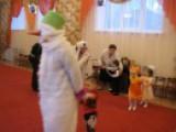 Снеговик. Празднование Нового года в ясельной группе