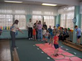Открытое физкультурное занятие (Все делаем вместе с детьми)
