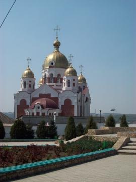 Храм в г. Рыбнице ПМР - Лариса Алексеевна Натальская