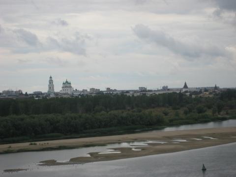 Волга. Астрахань. Вид на Кремль - Здесь мой дом!!!