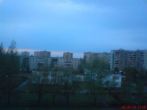 Синий вечер. (Из моего окна) - Любовь Валентиновна Колганова
