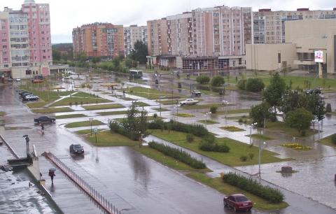 В моём городе дождь, дождь... - Любовь Валентиновна Колганова