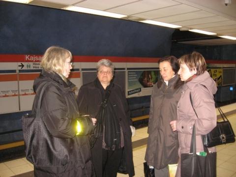 В метро - Средняя школа № 23 с углублённым изучением финского языка