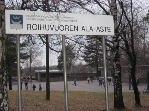 Школа Ройхувуори - Средняя школа № 23 с углублённым изучением финского языка