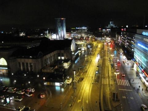 Конец дня - Средняя школа № 23 с углублённым изучением финского языка