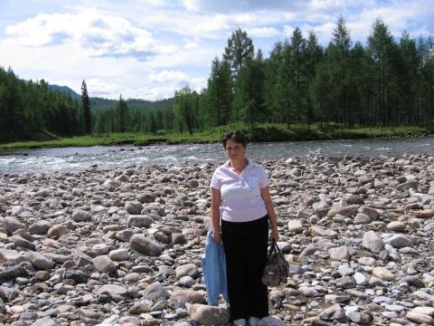 белый берег реки Гутара - Ольга Владимировна Тебенькова