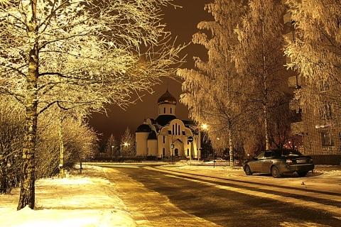 Зимой в Удомле - Любовь Валентиновна Колганова