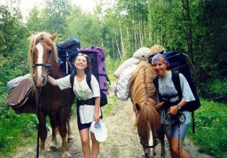Конный туризм - Отдыхаю!!!