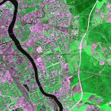 Снимок из космоса - Средняя общеобразовательная школа 337