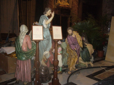 Ватикан готовится к Рождеству
