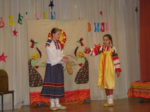 Мои ученицы на конкурсе `Звезды Оккервиля`  - Ирина Борисовна Ермолина