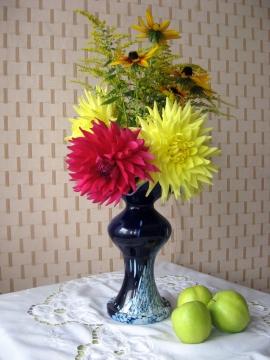 Август.Яблочный Спас - Городские цветы