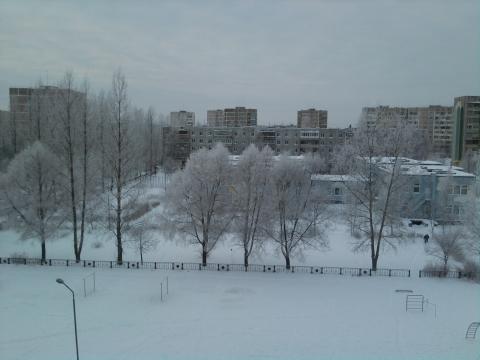 Новогоднее утро. 1 января 2010 Удомля - Любовь Валентиновна Колганова