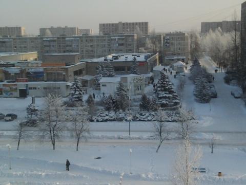 Моя улица сегодня, 2 января - Любовь Валентиновна Колганова
