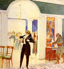 Иллюстрация к комедии `Горе от ума` - Любовь Валентиновна Колганова