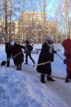 И мороз нам нипочём,  если надо - мы придём! - ГБДОУ детский сад №48