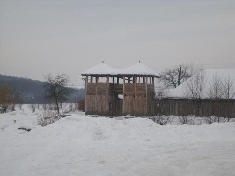 Ворота в деревню - Vera Antonovna Juritchkova